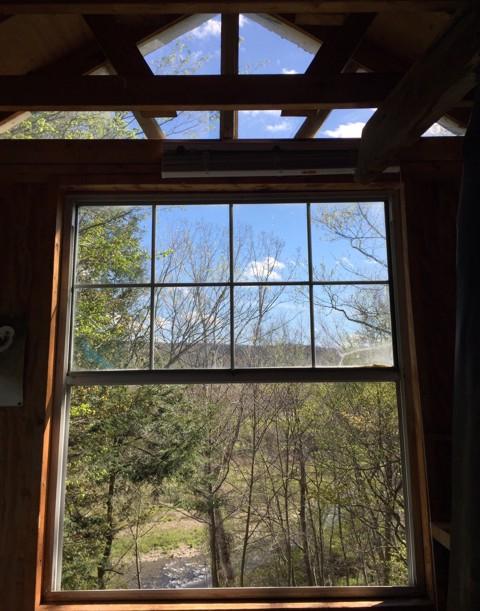 Inside my treehouse